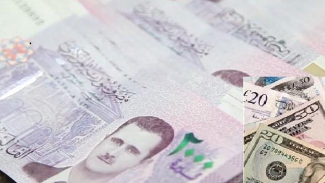سعر الليرة السورية امام العملات الاجنبية في السوق السوداء