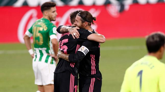 ريال مدريد يحقق فوز صعب على ريال بيتيس في الدقائق الأخيرة