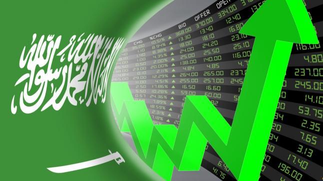 الأسهم السعودية تحقق ارتفاع بلغ 52.50 نقطة لتغلق معظم الاسهم على المؤشر الأخضر
